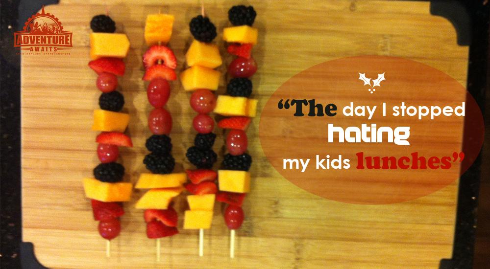 Fruit Cabobs!