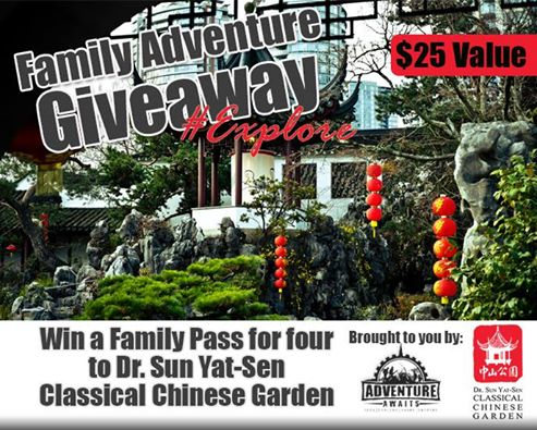 Chinese Garden Giveaway
