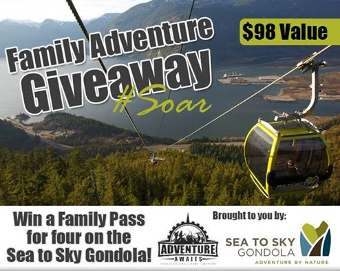 Sea to Sky Giveaway