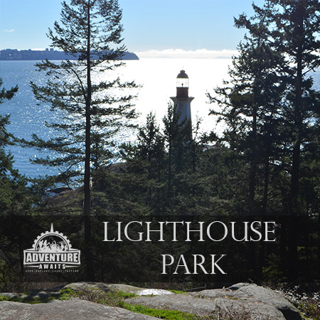 Light house park for our Top 5 Family Friendly Hikes in Greater Vancouver
