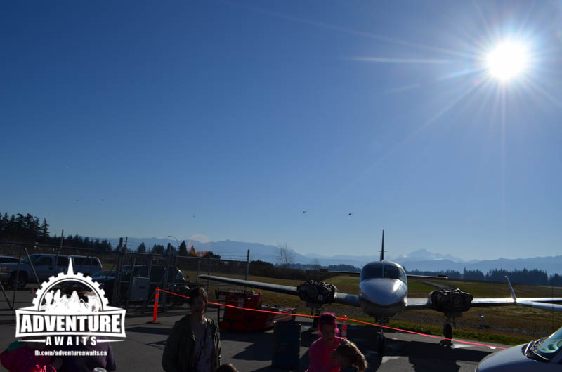 What a beautiful day out at Abbotsford Airport!