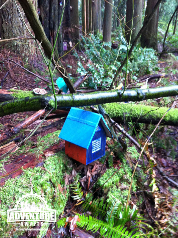 Another favorite fairy house.