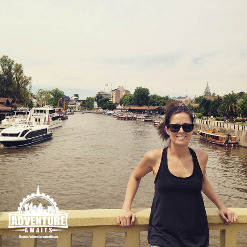 Andrea checking out Buenos Aires!