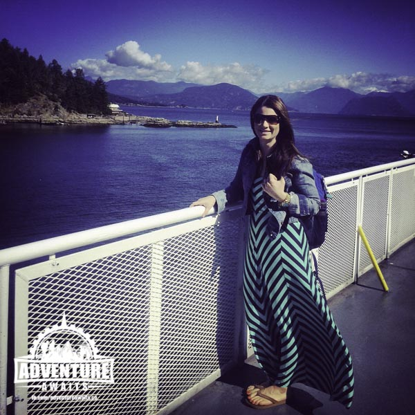 Jami on the BC Ferries