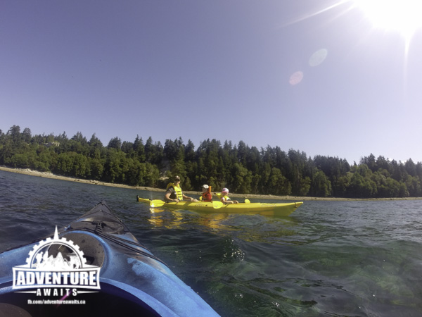 Kayaking at Beach Gardens Resort