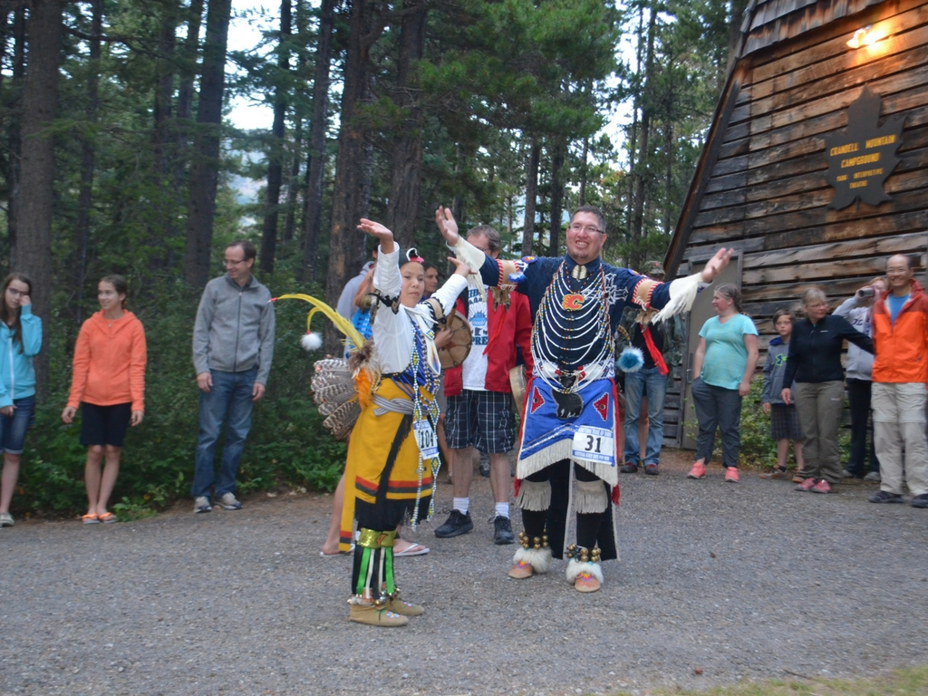 Aboriginal dance night in Waterton Lakes National Park