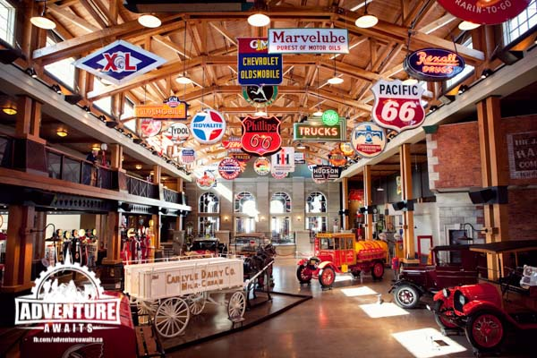 Gasoline Alley really is a place like no other. Photo Credit: Heritage Park.
