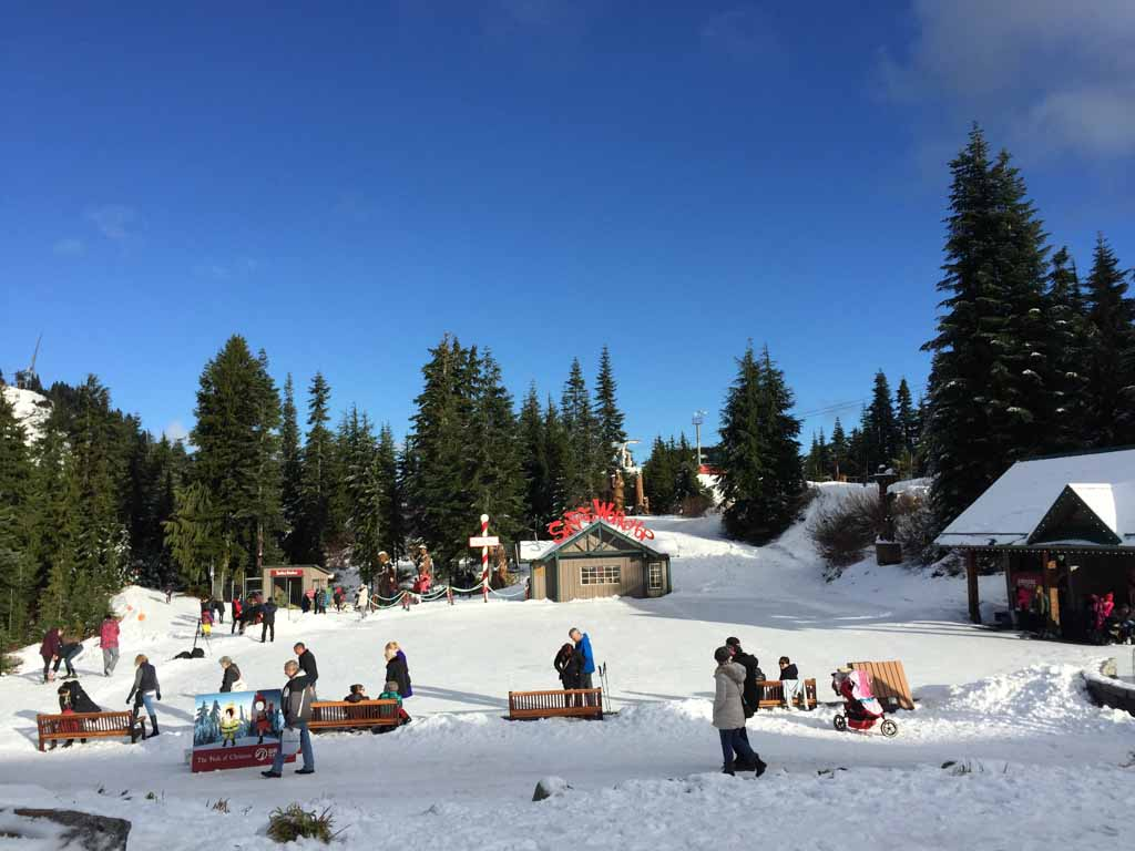 Had a ton of fun visiting Grouse Mountain and their Peak of Christmas