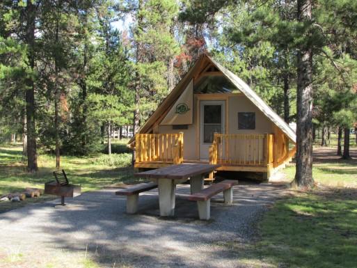 Jasper oTENTik - Parks Canada