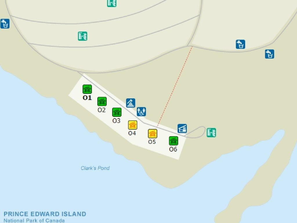 map-of-pei-national-park-campground