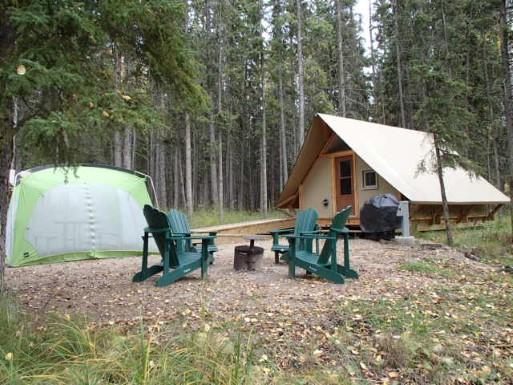 Prince Alberta National Park Saskatchewan oTENTik