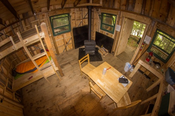 Rustic Cabin at Kejinkujik National Park - Nova Scotia Photo Credit: Parks Canada