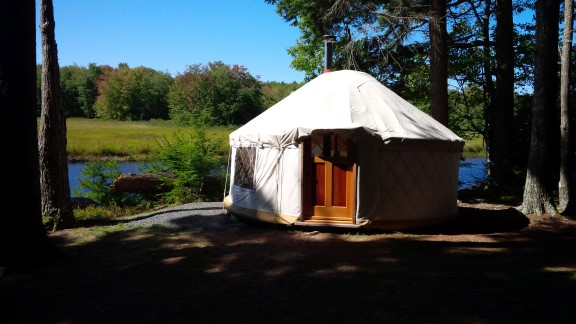 Yurt in Kejimkujik National Park - Nova Scotia