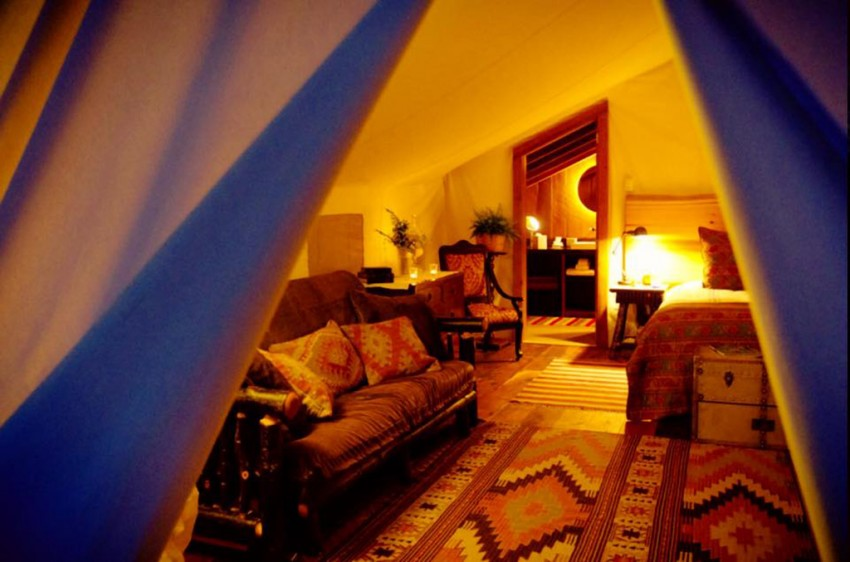 Glamping in BC Clayoquot Wilderness Resort room