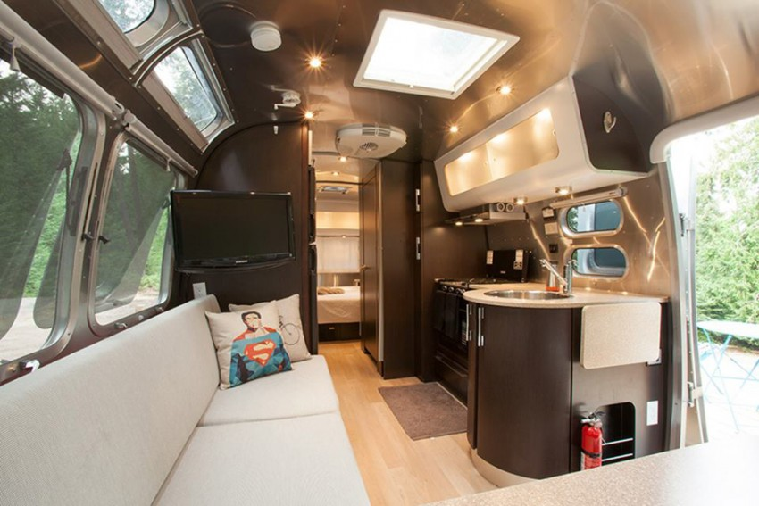 This cool airstream is the ultimate in alternative accommodations for families. Thank you to Woods on Pender for allowing us to share your photo. Photo Credit: Woods on Pender