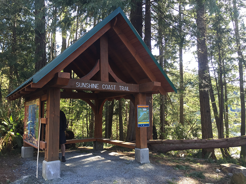 Sunshine Coast Trail Head