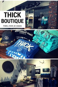 Thick Boutique Powell River BC Canada