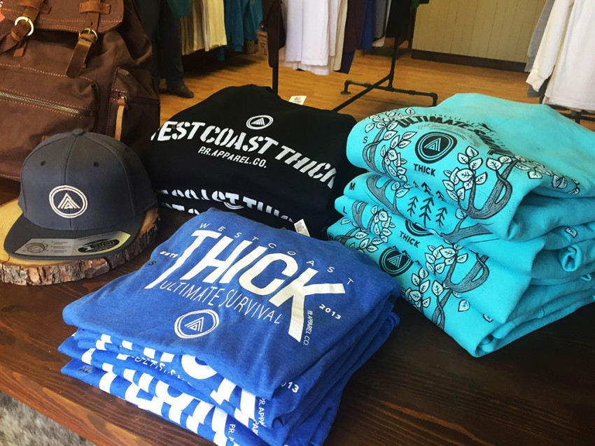 Westcoast Thick Powell River Clothes