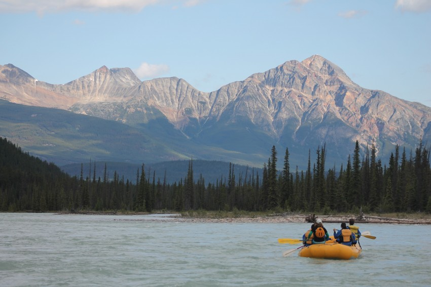 River Rafting with Jasper Rafting in Jasper, Alberta, Canada