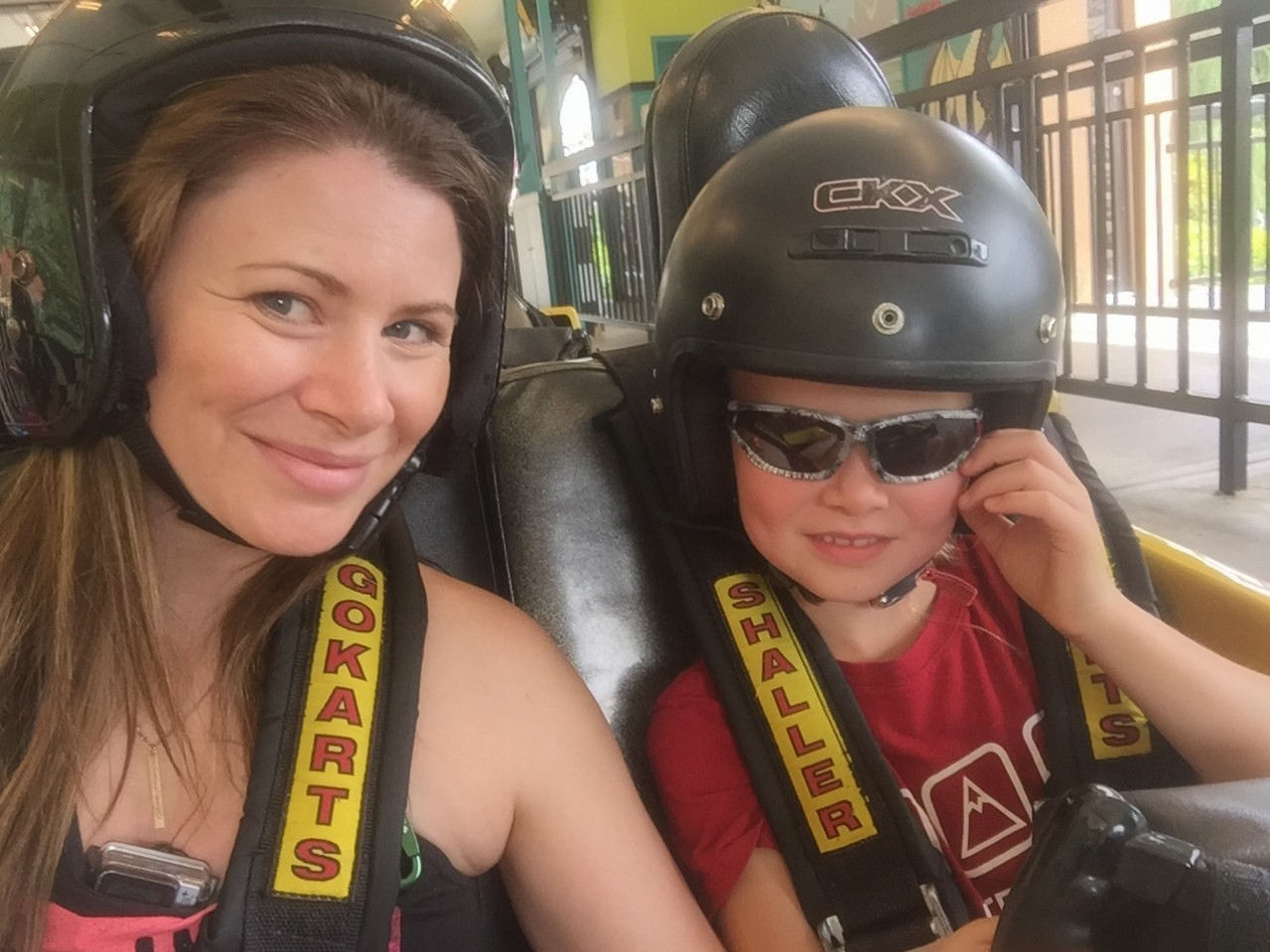 Go Cart Races at Castle Fun Park in Abbotsford with #ExploreBCbyBus