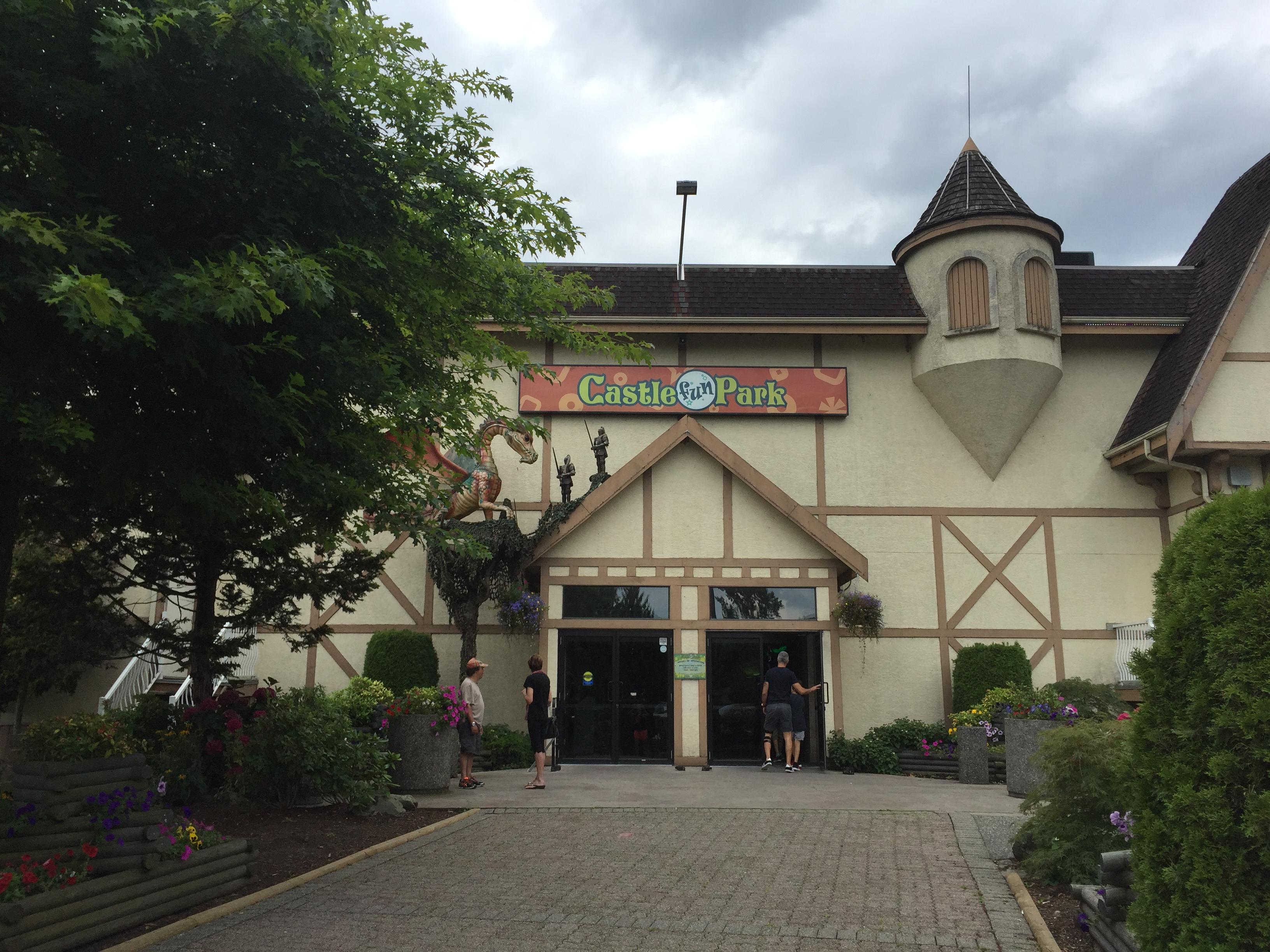 Castle Fun Park in Abbotsford with #ExploreBCbyBus