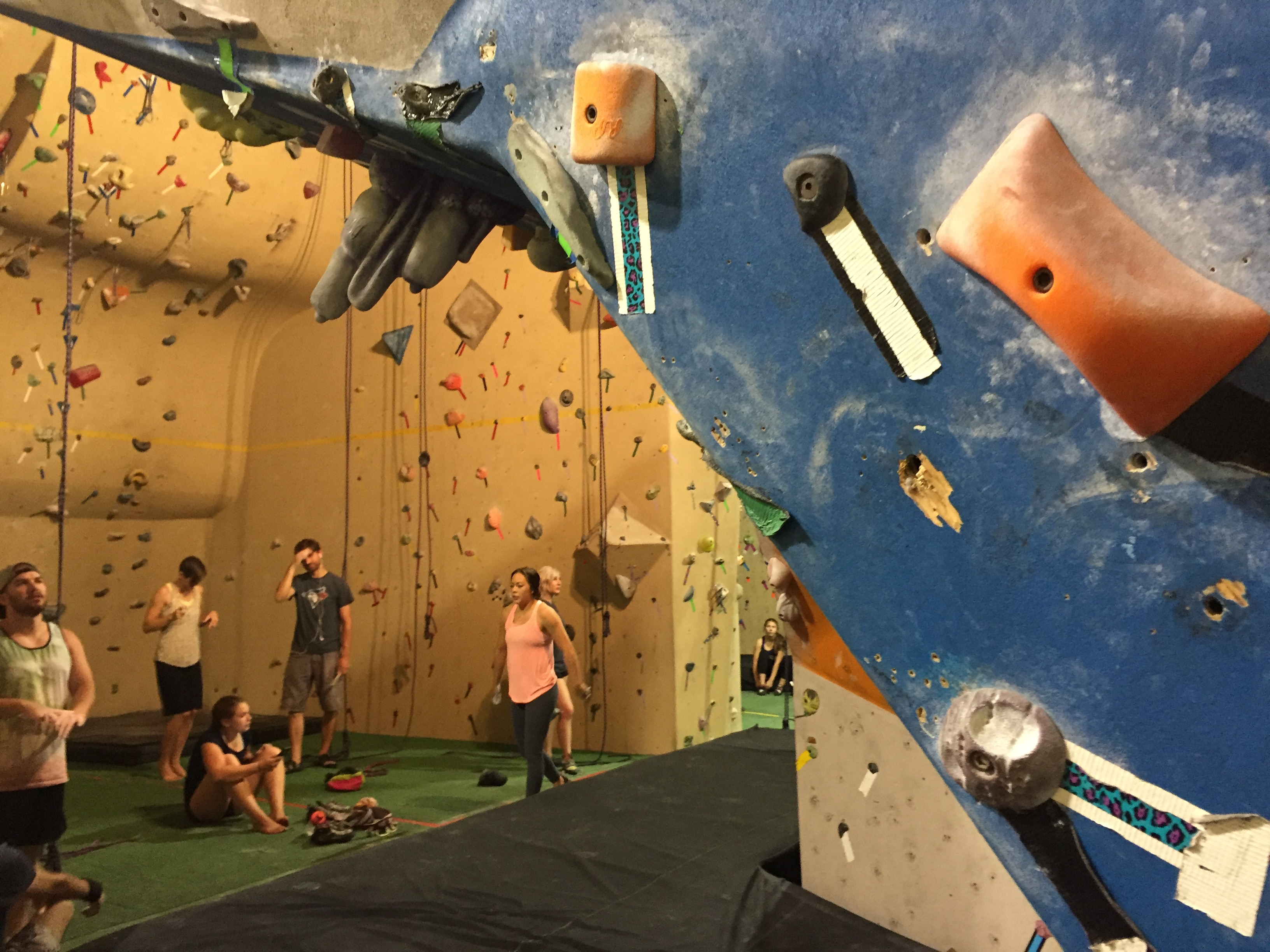Project Climbing Center Abbotsford with #ExploreBCbyBus