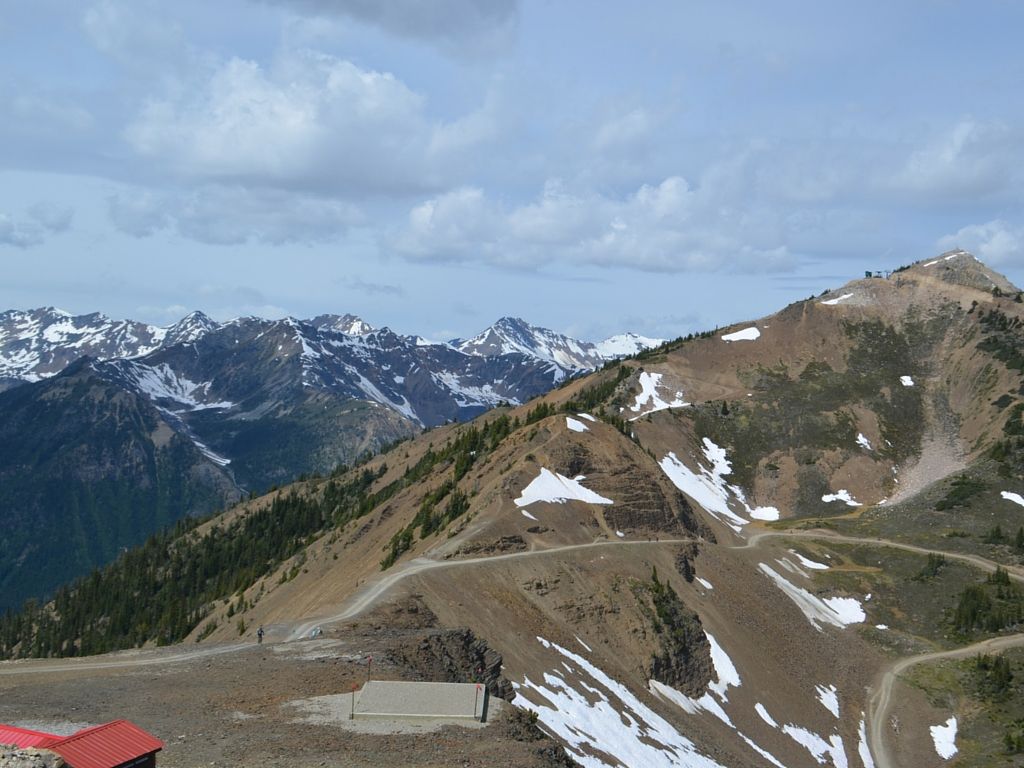 Top of Kicking Horse Mountain