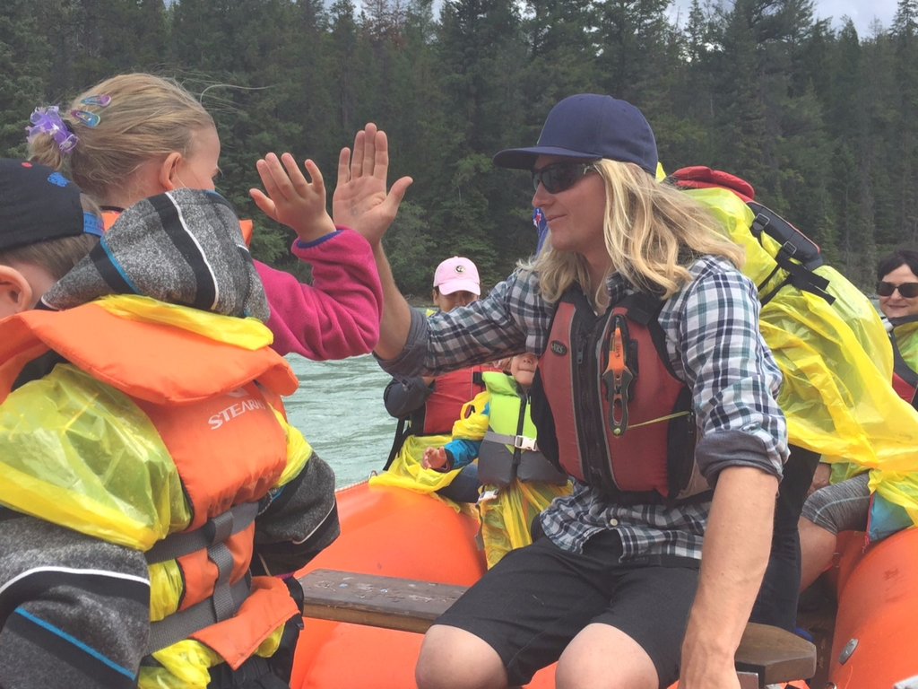 Educational Fun with Jasper Raft Tours