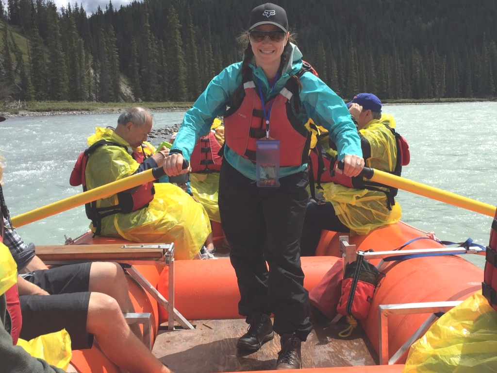 Taking control with Jasper Raft Tours