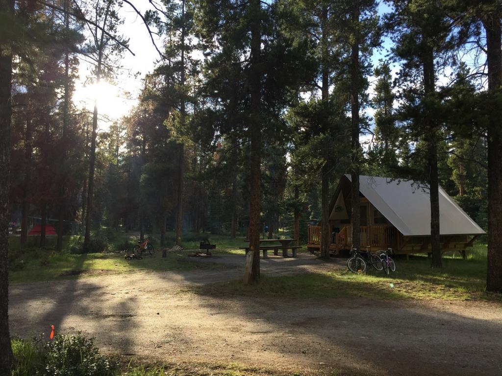 oTENTik in jasper national park