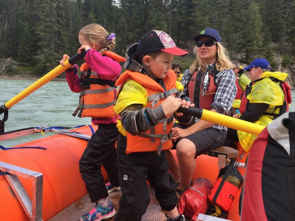 rafting in jasper
