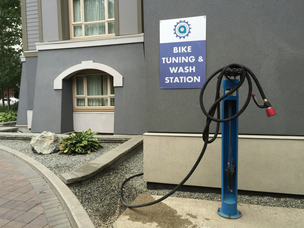 Aava Hotel Bike Wash and Tuning station