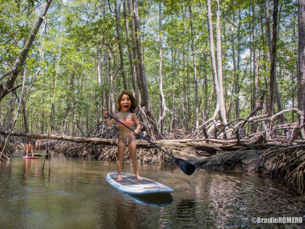 Run Like a Girl Stand Up Paddle Adventure