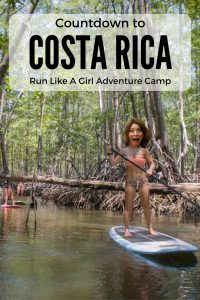 Run Like a Girl Stand up Paddle board adventure