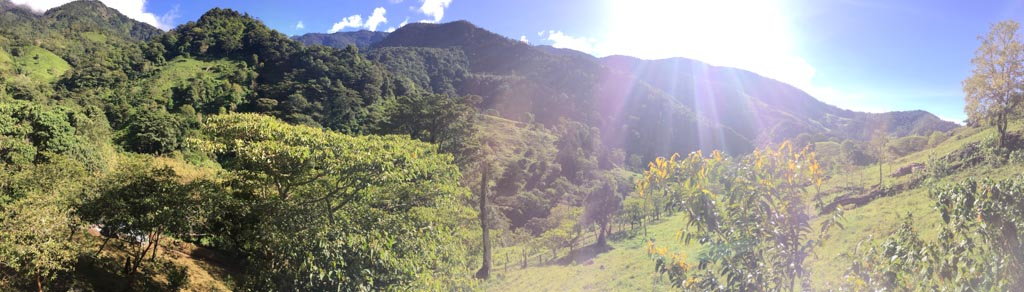 view from the hike to san miguel at the Run Like a Girl Adventure and Wellness Retreat in Costa Rica