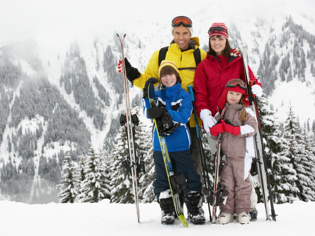 Stock Photo for the Best family ski resorts in BC