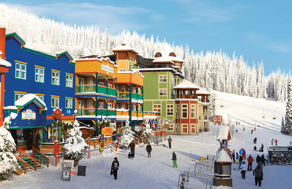 Silverstar, one of the best family ski resorts in BC