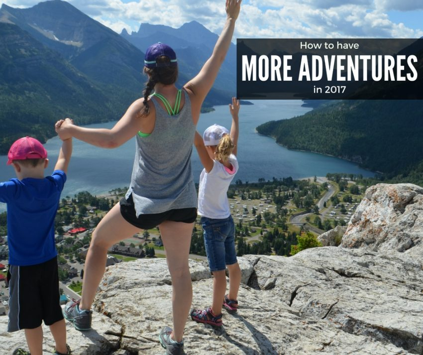 10 ways to have more adventures in 2017 - FB post