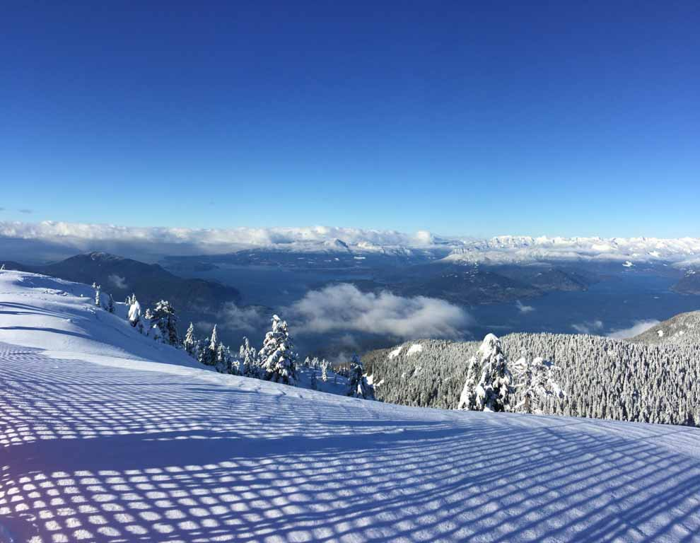 view from the top of cypress mountain