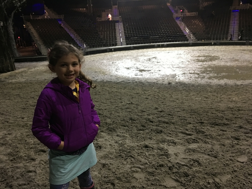 girl backstage at the cavalia odysseo show
