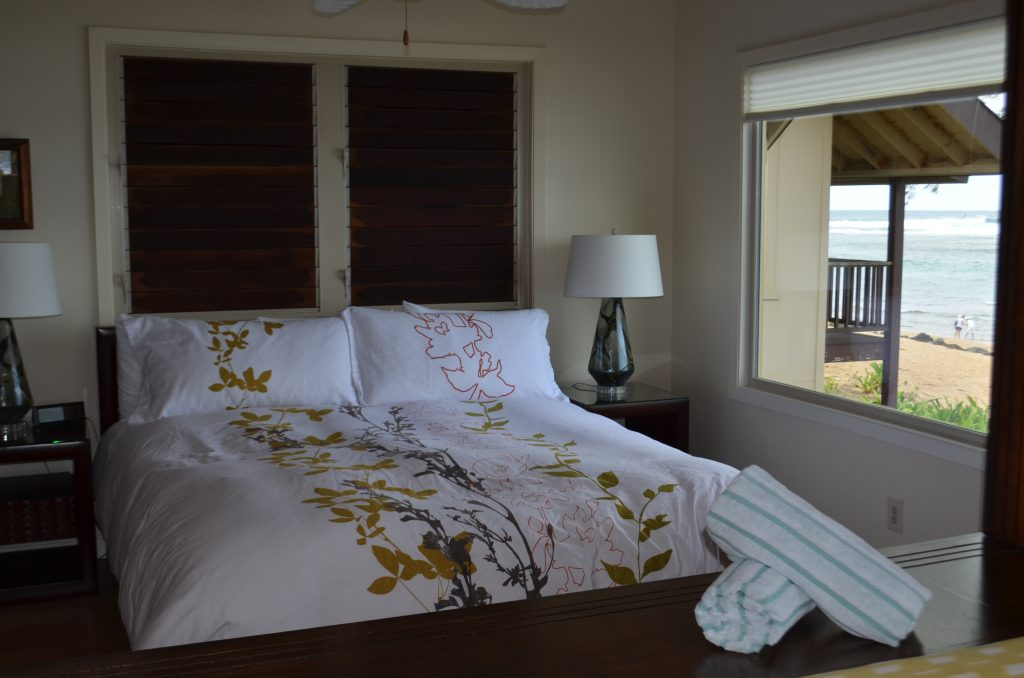 inside a room at the Hanalei Colony Resort