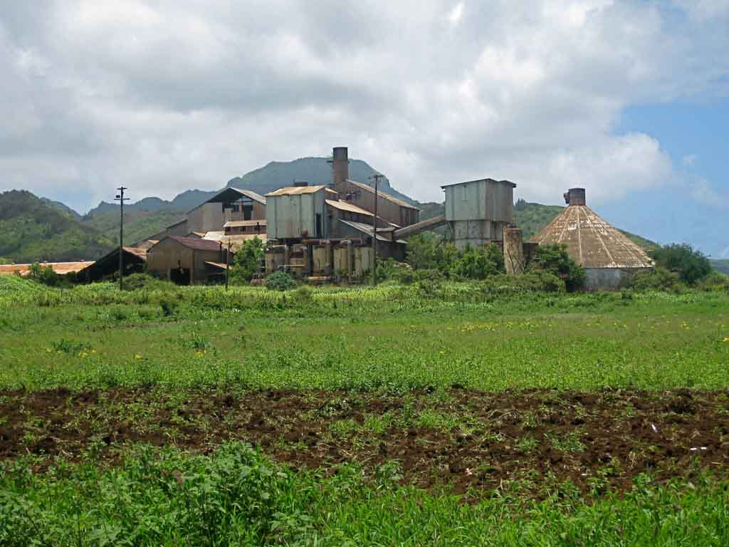 Old sugar plantation mill