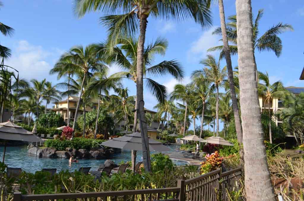Family pool at the Koloa landing resort