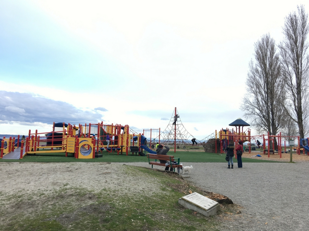 Playground at Centennial Beach in Tsawassen