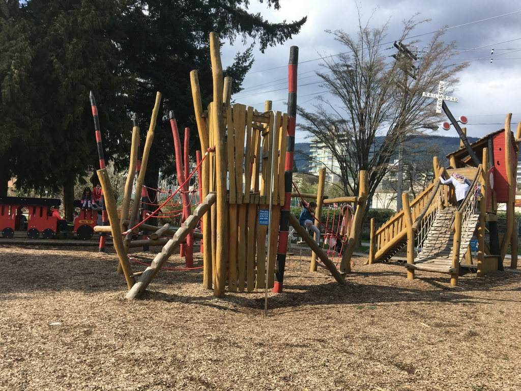 Playground at John Lawson park for our best playgrounds in lower mainland list
