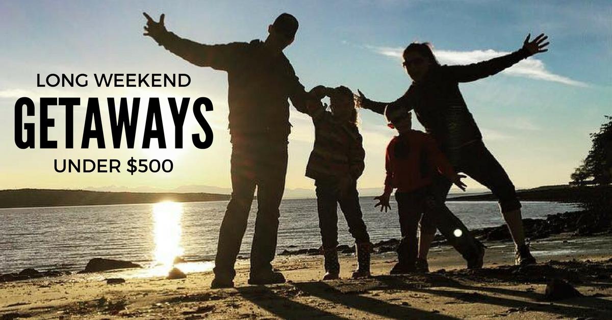 top 6 long weekend getaways under 500 adventure awaits. Black Bedroom Furniture Sets. Home Design Ideas