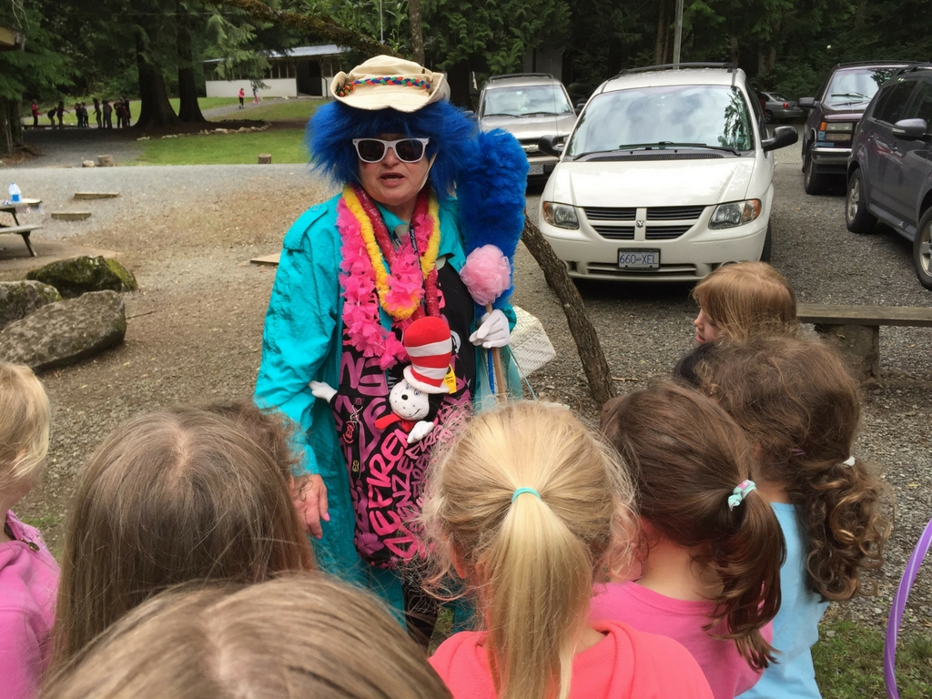 being-silly-at-girl-guide-camp