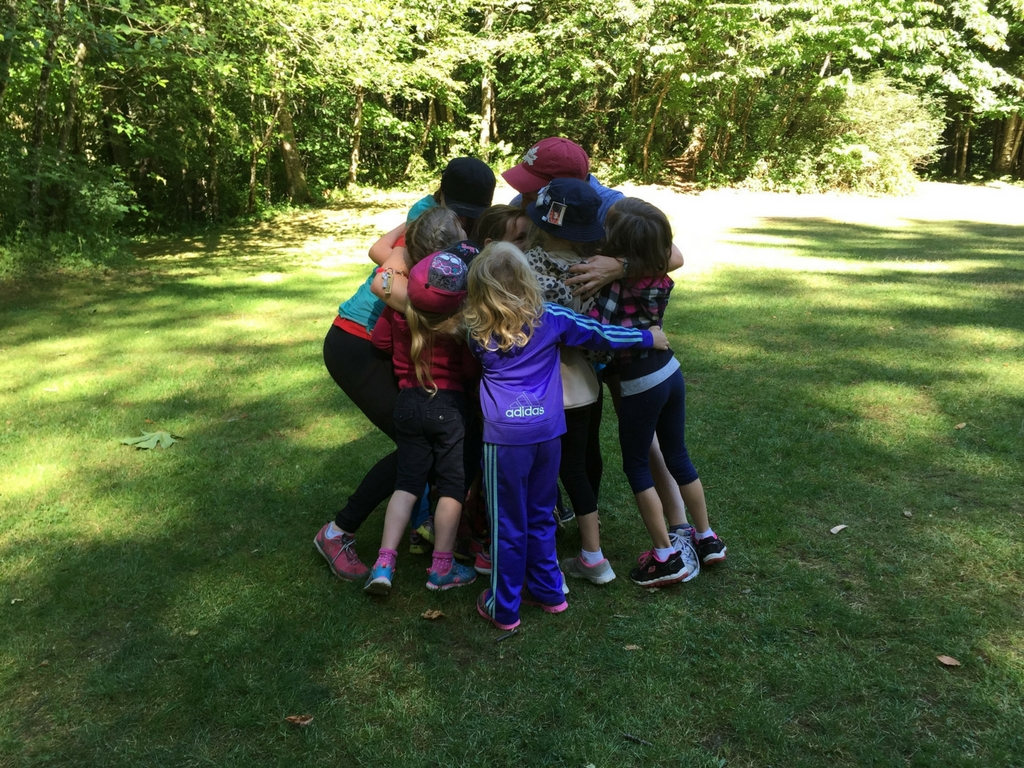 group-hug-at-girl-guide-camp