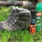 tall-hiking-boots-and-tick-repellent-spray