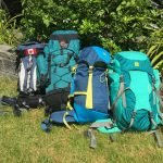 packed-backpacks-in-backyard